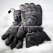 Rechargeable Li-ion Battery Heated Gloves for Outdoor Sports